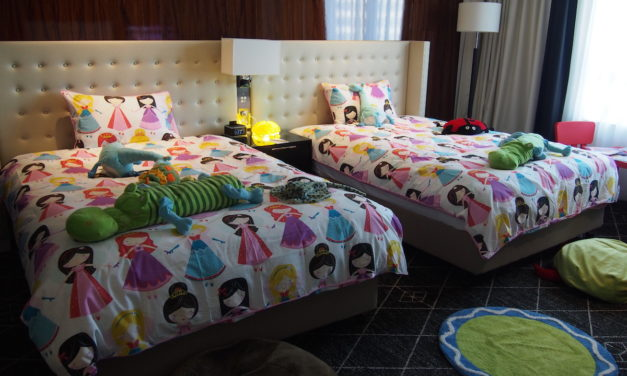 Hotel Review: Swissotel Sydney Kids Room